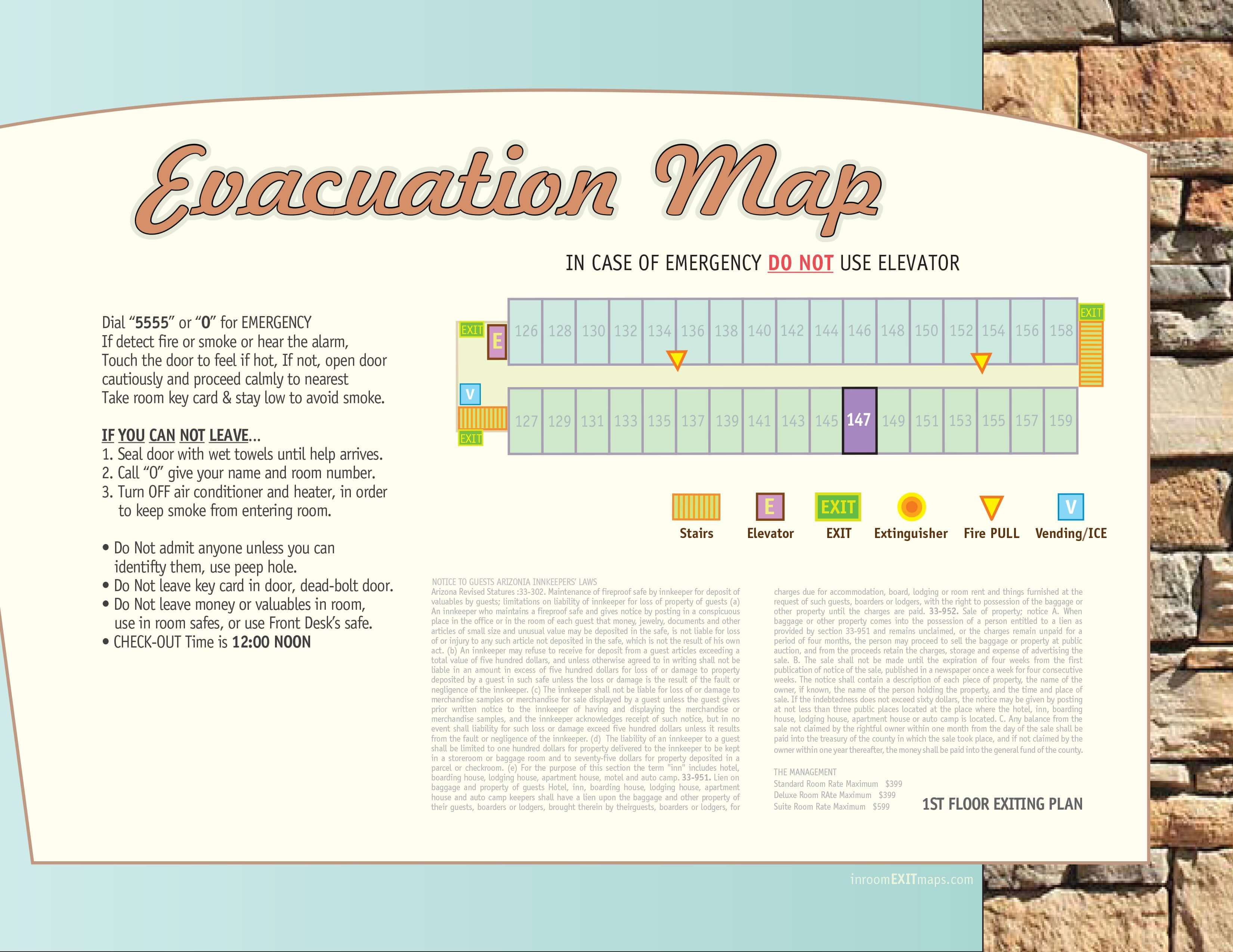 Arizona_147_Evacuation_Map
