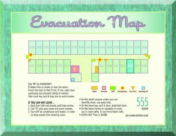 Evacuation Map Hawaii