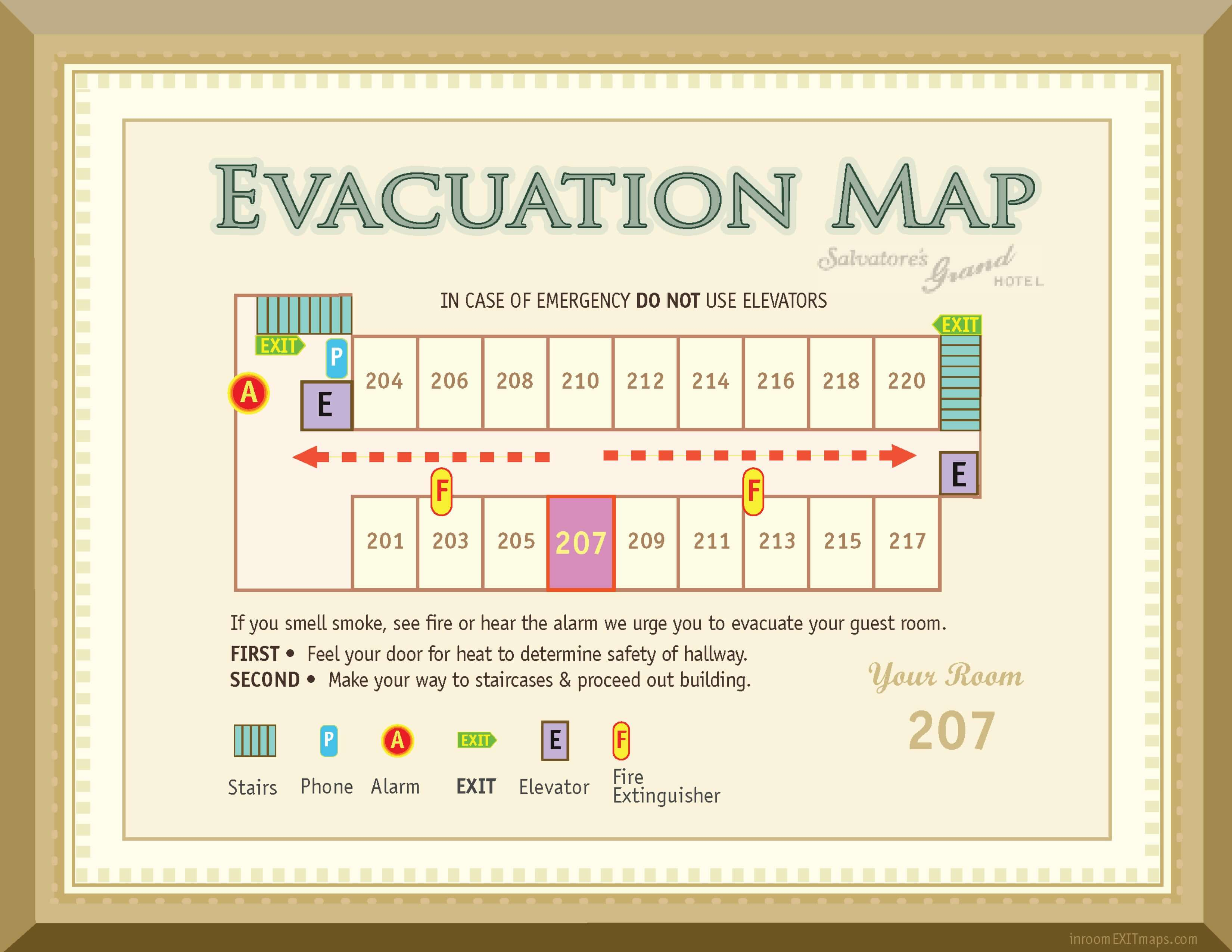 New_York_*207_Evacuation_Map