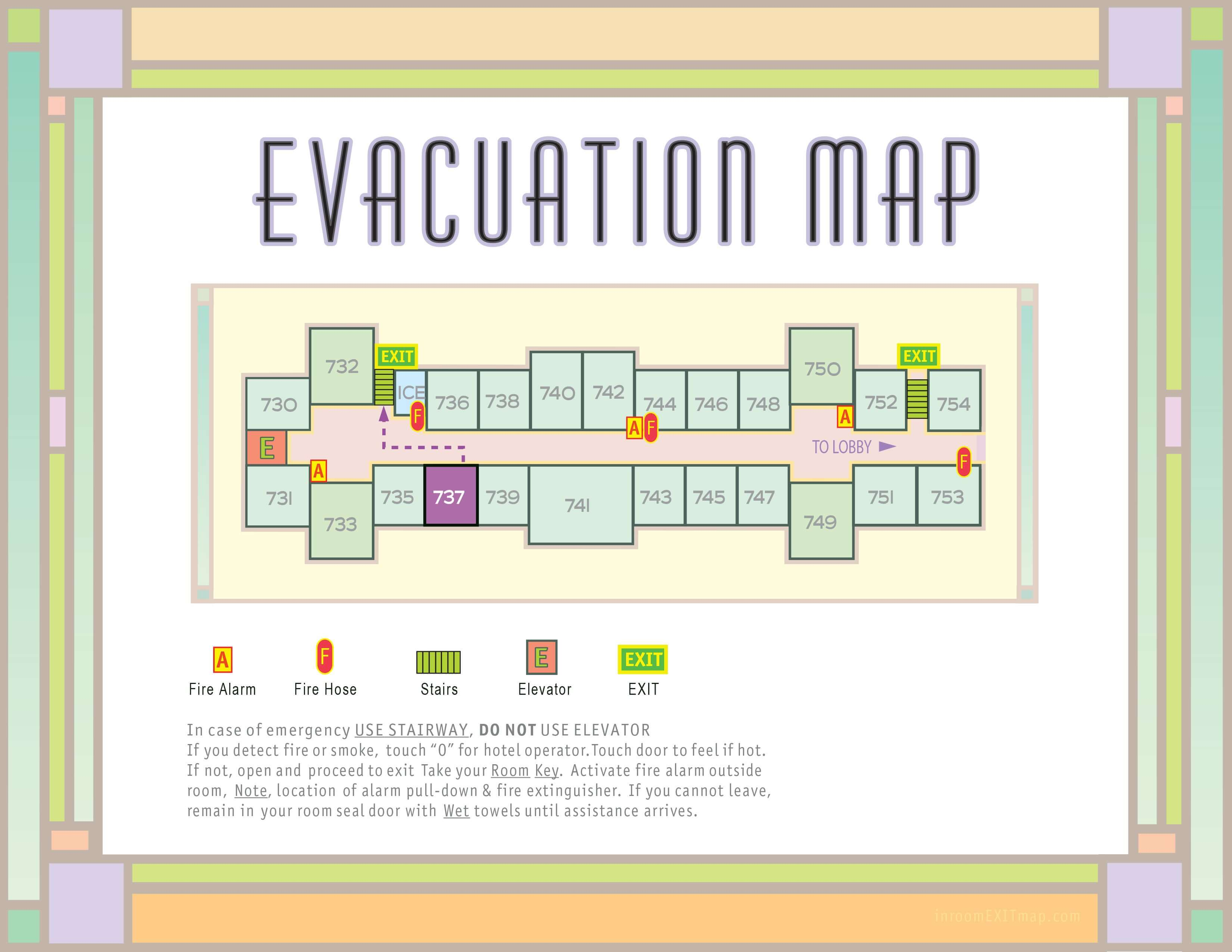 Los_Angeles_737_Evacuation_Map